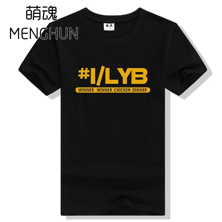 Playerunknowns Battlegrounds tee shirts world hot FPS game mens colorful t shirt battlegrounds t shirt ac639