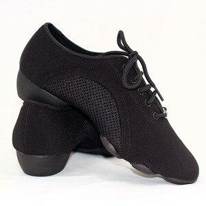 Image 5 - BD танцевальная обувь для мужчин и женщин, современные туфли для латиноамериканских танцев, с трехсекционной подошвой
