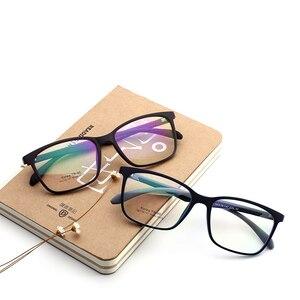 Image 1 - Hotony Optische Brillen Ultem Flexibele Super Lichtgewicht Recept Optische Bril Frame D010