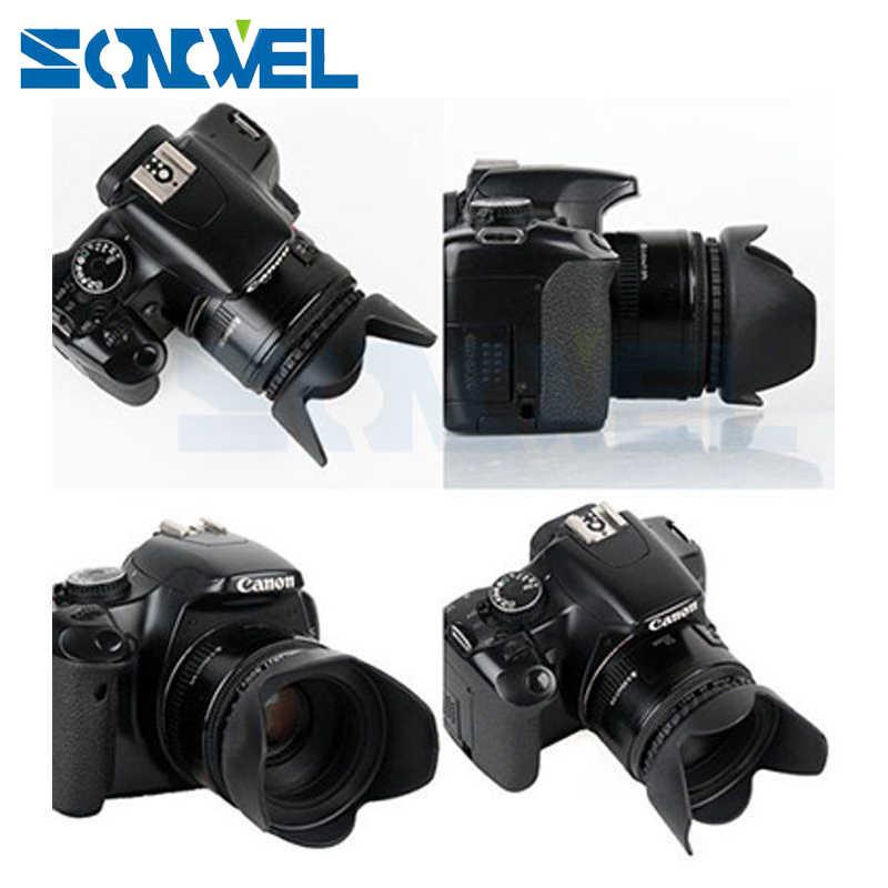49mm 52mm 55mm 58mm 62mm 67mm 72mm 77mm Bắt Vít Cánh Hoa Tấm Che Nắng ống kính Cho Máy Ảnh Nikon Sony Fuji Olympus DSLR Camera