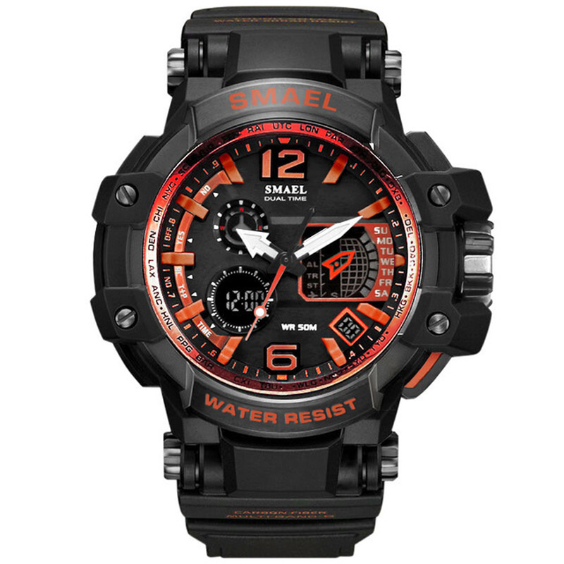 Permalink to Sports watch military multifunctional watch waterproof and pressure resistant men's watch outdoor sports watch