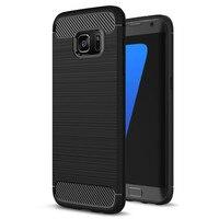 Soft Silicone Fiber Cases For Samsung Galaxy S7 Edge Case For Samsung Galaxy A5 2017 Case