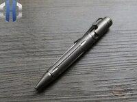 Aleación de titanio Mini EDC perno bolígrafo táctico pluma firma herramientas de ventana rota