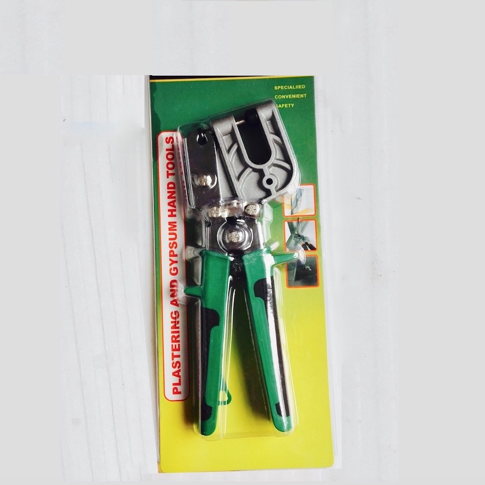 9 inch Stud Crimper Pincer Punch Plier Punching Forceps Drywall Partition Punch Fastener Crimping Lock Plier     Hand Tool mini small ferrules tool crimper plier for crimping cable end sleeves from 0 25 2 5mm2