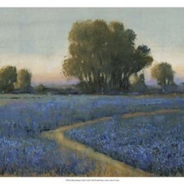 Blue Bonnet Field I Poster Print by Timothy O'Toole (19 x 13)