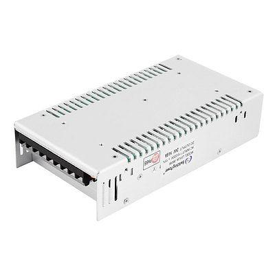 AC110/220V 14.6A Silver Tone Shell LED Light Switch Power Supply Driver Adapter ac 85v 265v to 20 38v 600ma power supply driver adapter for led light lamp