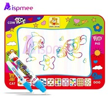Magic Educational Water Drawing Mat 80*60CM Doodle Mat With Play Pen EVA Rubber Painting Mat Crafts  Arts And Crafts For Kids
