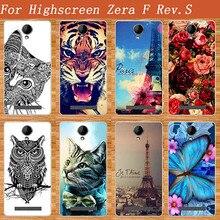 High Quality Diy UV Painting Colored Tiger Owl Rose Soft Tpu