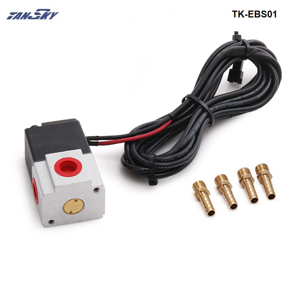 auto turbo kit 3 ports Electronics Boost Solenoid turbo electronic controller boost Boost Controller TK-EBS01 diy kit turbo air connex electronics physical science education toy