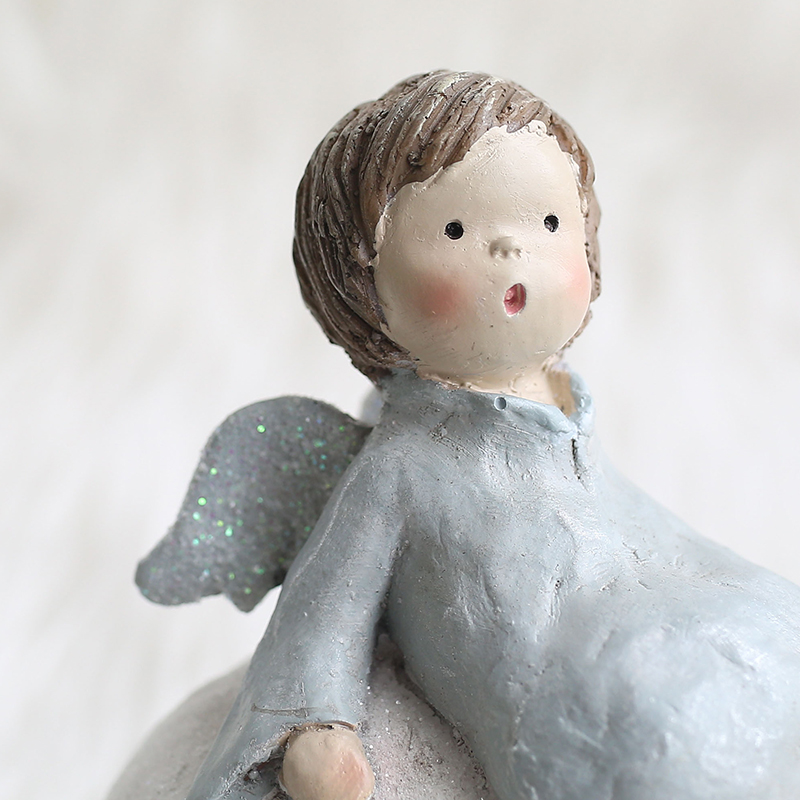 Haus & Garten Figuren & Miniaturen Miz Startseite Blaue Horse Handmade Handwerk Spielzeug Für Kinder Pummelchen Geschenk Für Kinder Weihnachten Dekoration Geburtstagsgeschenk