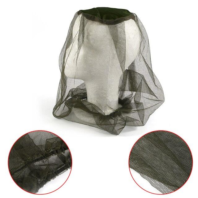 Thương hiệu mới Midge Muỗi Côn Trùng Hat Bug Lưới Head Mặt Ròng Đầu Bảo Vệ Lưới Du Lịch Cắm Trại Lưới Cap