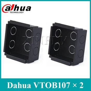 2 Pieces/Lot Dahua Original VTOB107 Flush Mounted Box for VTO2000A Installation Flush Mounted Box