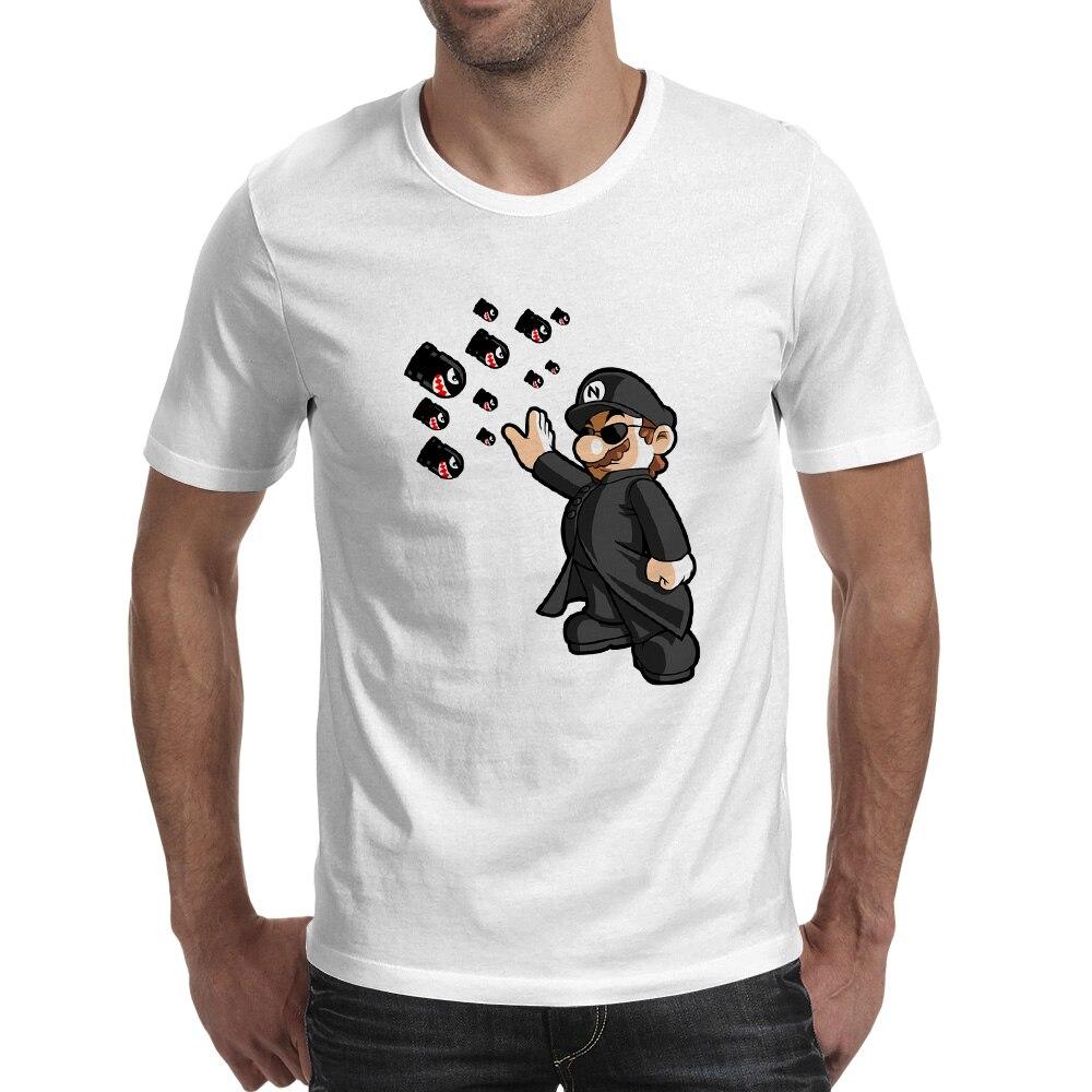 M Camiseta Neo Skate Hip Hop Camiseta de moda Camiseta estampada de - Ropa de hombre