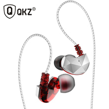 QKZ CK6 3.5mm Wired אוזן טלפון אוזניות עבור טלפון באוזן אוזניות Earbud סטריאו Hifi אוזניות לxiaomi טלפון auriculare