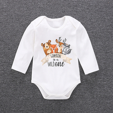 YiErYing Baby Romper 2018 New Fashion Cartoon Animal Infant Clothing Boy Girl Clothes Cute Summer Jumpsuit Costume