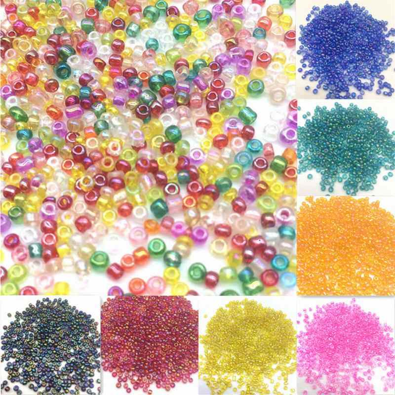 500pcs/lot 2mm Cheap DIY AB Czech Glass Seed Beads Crystal Beads Cheap for Accessories Beads Bracelet Jewelry Making Spacer