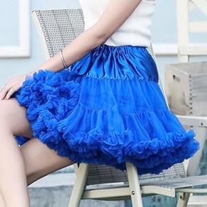 Image 4 - E JUE SHUNG Ball Gown Underskirt Swing Short Dress Petticoat Lolita Cosplay Petticoat Ballet Tutu Skirt Rockabilly Crinoline