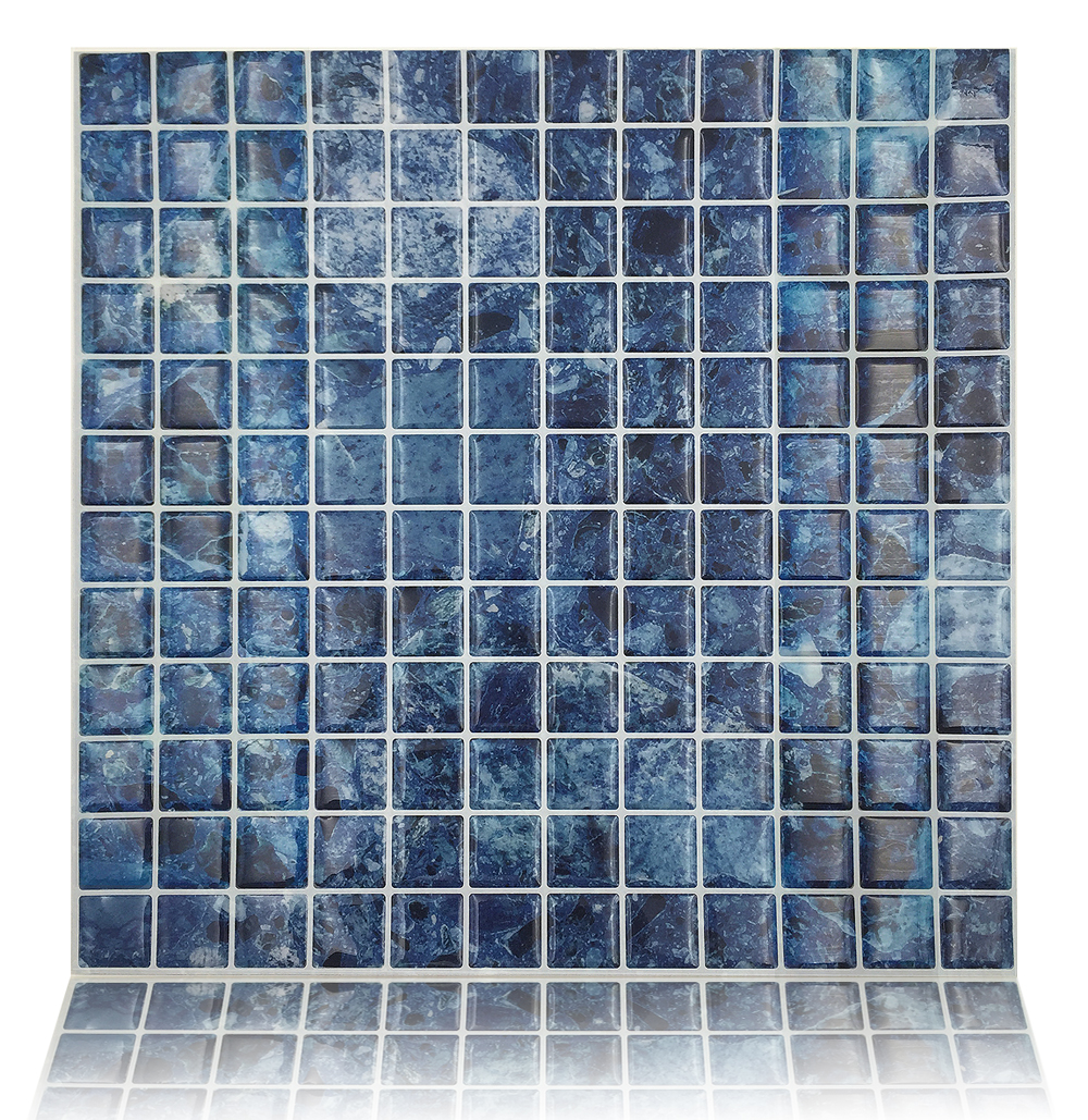 "Best X10 Peel N And Stick Backsplash Tile For Kitchen: Peel And Stick Wall Tiles 10""x10"" Mosaic Tile Adhesive"