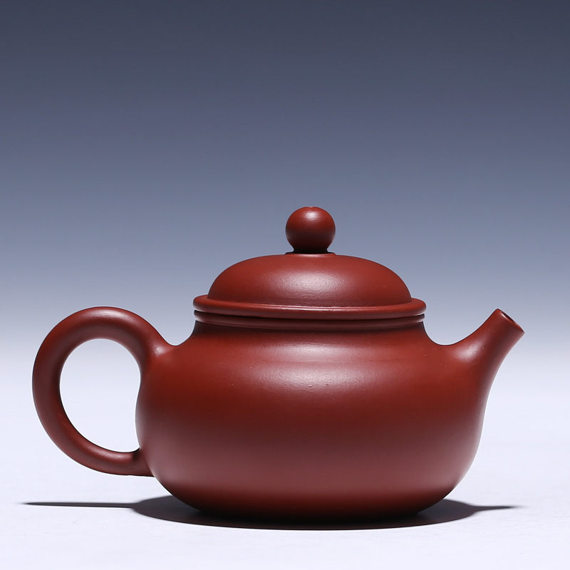 recommended masters all hand undressed ore mud zhu dahongpao pot of kung fu tea set gift custom mud painting for days - 2
