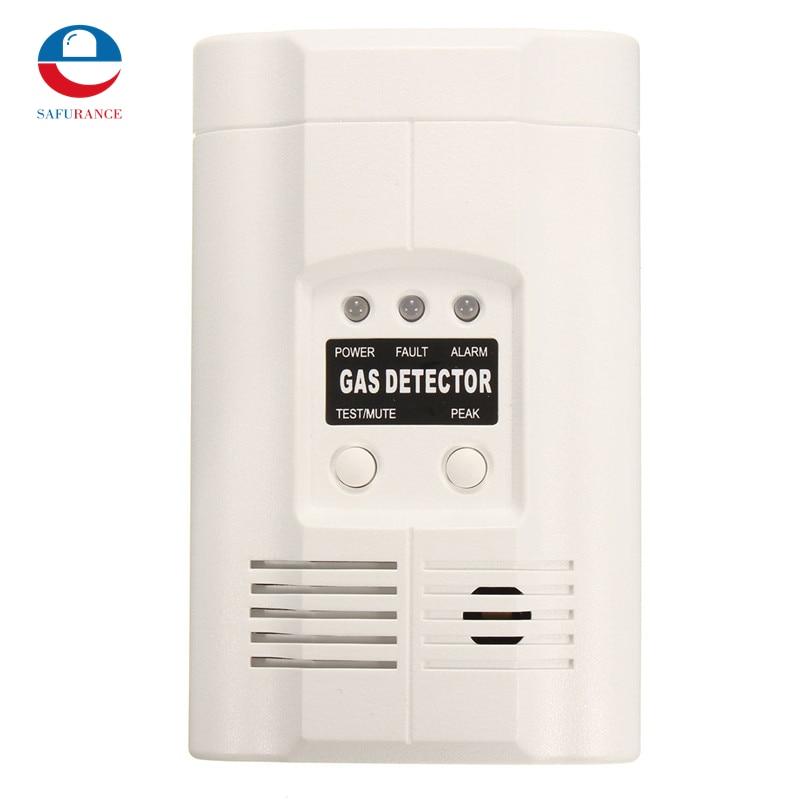 1 Set   LPG LNG Coal Natural Gas Leak Detector Alarm Sensor US Plug For House Kitchen High Sensitivity недорого