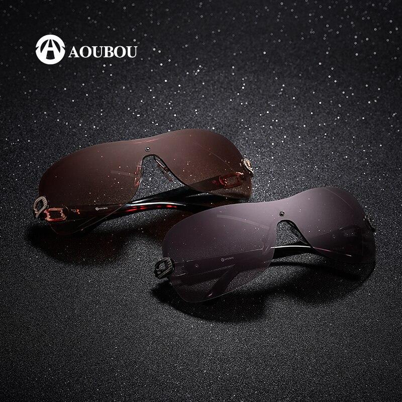 AOUBOU Luksuzne naočale za sunce bez rukava Ženska marka Dizajner s - Pribor za odjeću - Foto 2