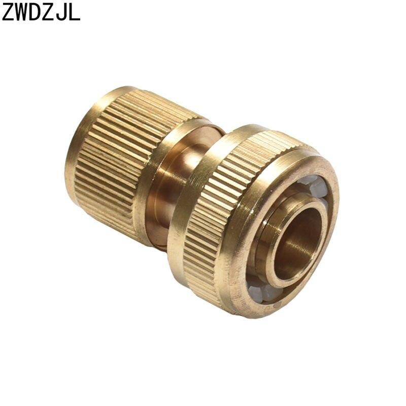 Garden Tap Brass 3/4 Hose Quick Connector Garden Irrigation 25mm Hose Connector  Pure Copper Adapter 1pcs