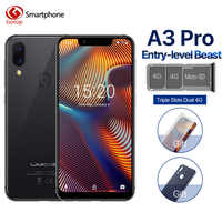 "UMIDIGI A3 Pro Global Band 5.7""19:9 FullScreen smartphone 3GB+32GB Quad core Android 8.1 12MP+5MP Face Unlock Dual 4G Cell phone"
