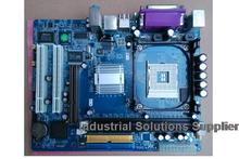 New 845 845E 845PE motherboard supports the independent video card dual port COM one year warranty