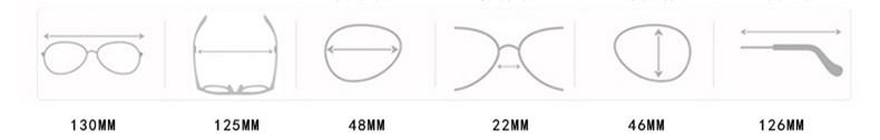 DJXFZLO Retro gafas de sol ovaladas vintage 1