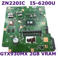 ZN220IC With I5 6200CPU GTX930MX 2GB VRAM All in one mainboard For ASUS ZN220IC Desktop motherboard 90PT01N0 R02000 100% Tested