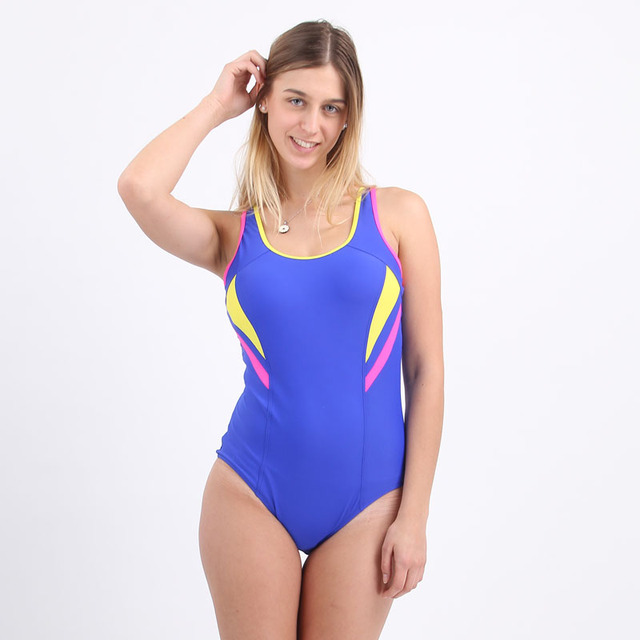 9f66315a4f6ff Professional Sport Swimming Suits One Pieces Women Sport Swimsuit Women One  Piece Bathing Suit patchwork Swimwear Female