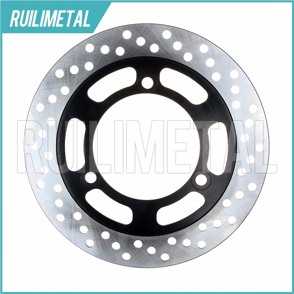Rear Brake Disc Rotor for KAWASAKI EX4 EX GPZ 500 Ninja R S Single front disc 94 95 96 97 98 99 00 01 02 03 04 05 06 07 08 09 rear brake disc rotor for kawasaki kle500 91 92 93 94 95 96 97 98 99 00 01 02 03 04 05 06 07 klr650 a c kl650 tengai
