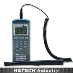 AZ 9651 ręczny higrometr cyfrowy rejestrator wilgotności rejestrator temperatury w Wilgotnościomierze od Narzędzia na