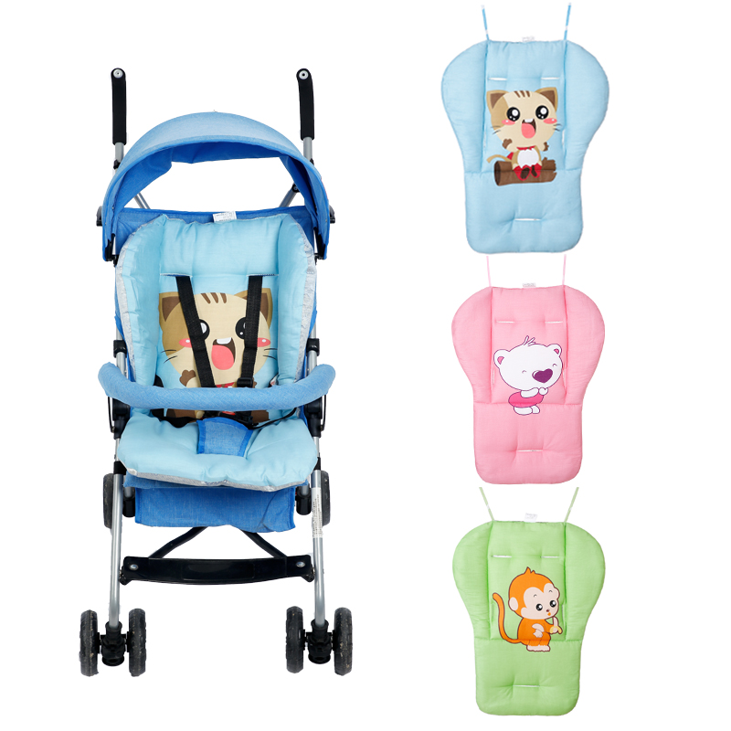 Strollers Accessories Activity & Gear Baby Stroller Pad Seat Cartoon Thicken Pad Trolley Chair Cushion Printed Warm Cushion Pad Mattresses Pillow Cover Carriage Cart Punctual Timing