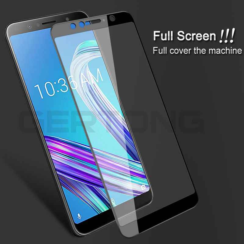 ZB602KL Full Cover Tempered Glass For Asus Zenfone Max Pro M1 ZB602KL X00TD Safety Screen Protector Protective Film ZB601KL 9H