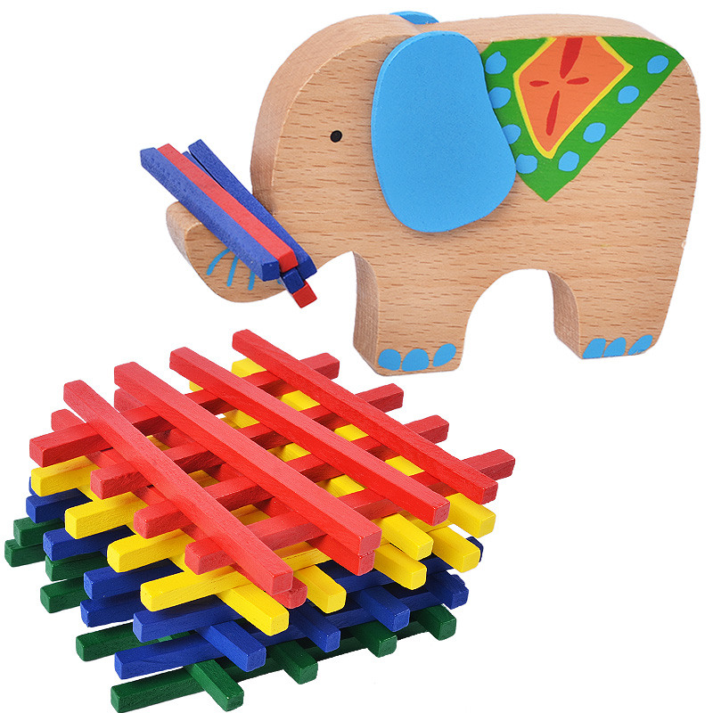 Building Blocks Wooden Toys For Children Elephant/camel Balancing Toys Game Baby Montessori Educational Toys Birthday Gift Spare No Cost At Any Cost