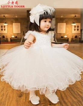 2017 Summer Princess Baby Girl Dress Up Child Wearing Wedding Child Toddler Girl Dress Christmas Baby Dress. 1-12 years