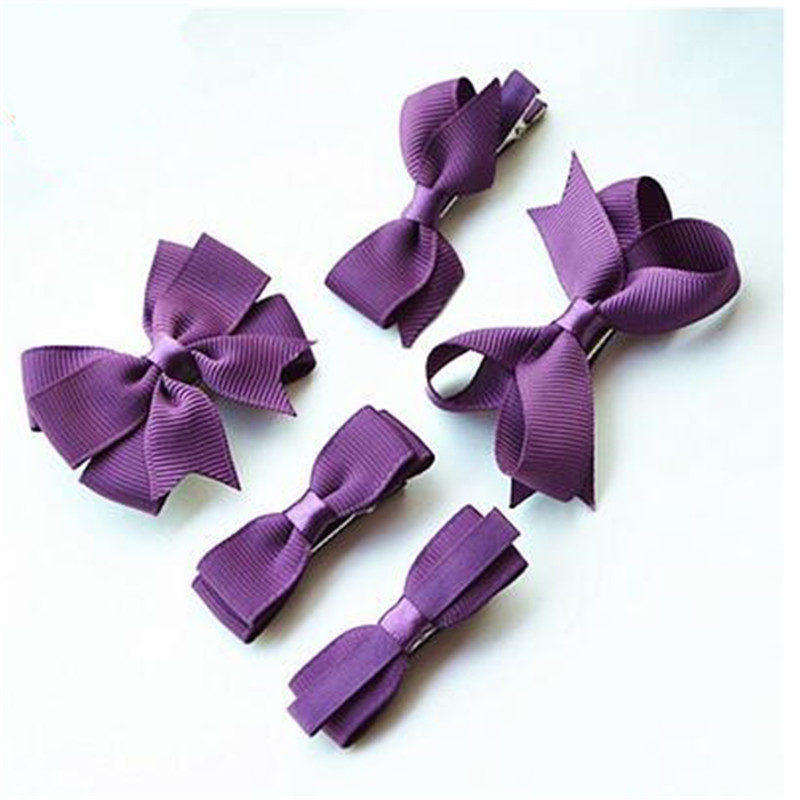Popularity five kinds of style creative decorative bow hair accessories children hairpin CC2631