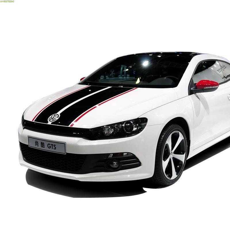 Brief Lines Design Car Refit Decor Sticker On Car For VW POLOGOLF - Car custom vinyl stickers design