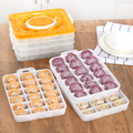 2 Capas/Set caja de Almacenamiento de Contenedores de Alimentos de plástico Conveniente Durable Caliente Bicapa Cesta inicio Accesorios Para Gadgets de cocina Organizador