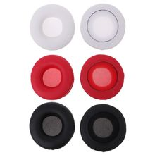 2PCS Earphone Ear Pad Earpads Sponge Cover Soft Foam Cushion Replacement for Meizu HD50 Headphones