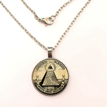 glass Pyramid photo All Seeing Eye Necklace Handmade Eye of Jewelry Pyramid Pendant Silver Chain Necklace Gems Pendant Necklace цена в Москве и Питере
