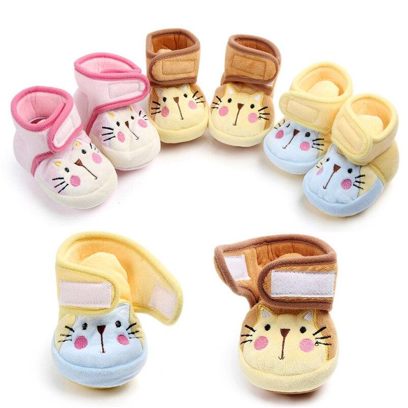 0-12months Cartoon Warme Infant Schuhe Nette Kleinkind Schuhe Hohe Qualität Süße Baby Schuhe Bebek Ayakkabi 3no05 Feine Verarbeitung