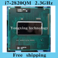 Core i7 2820QM 2.3GHz 8M Quad Core eight threads SR012 2820 Notebook processors Laptop CPU PGA 988 pin Socket G2