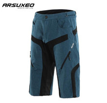 ARSUXEO Men's Cycling Shorts DH MTB Bike Breathable Outdoor Sports Running Bicycle Downhill Mountain Bike Short Trousers недорого