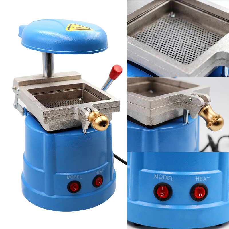1 Set Dental Lamination Machine Dental Vacuum Forming Machine Dental Equipment Orthodontic Retainer For Dentist Lab 1 set new dental lab equipment automatic crown remover set dentist tools for dental materials