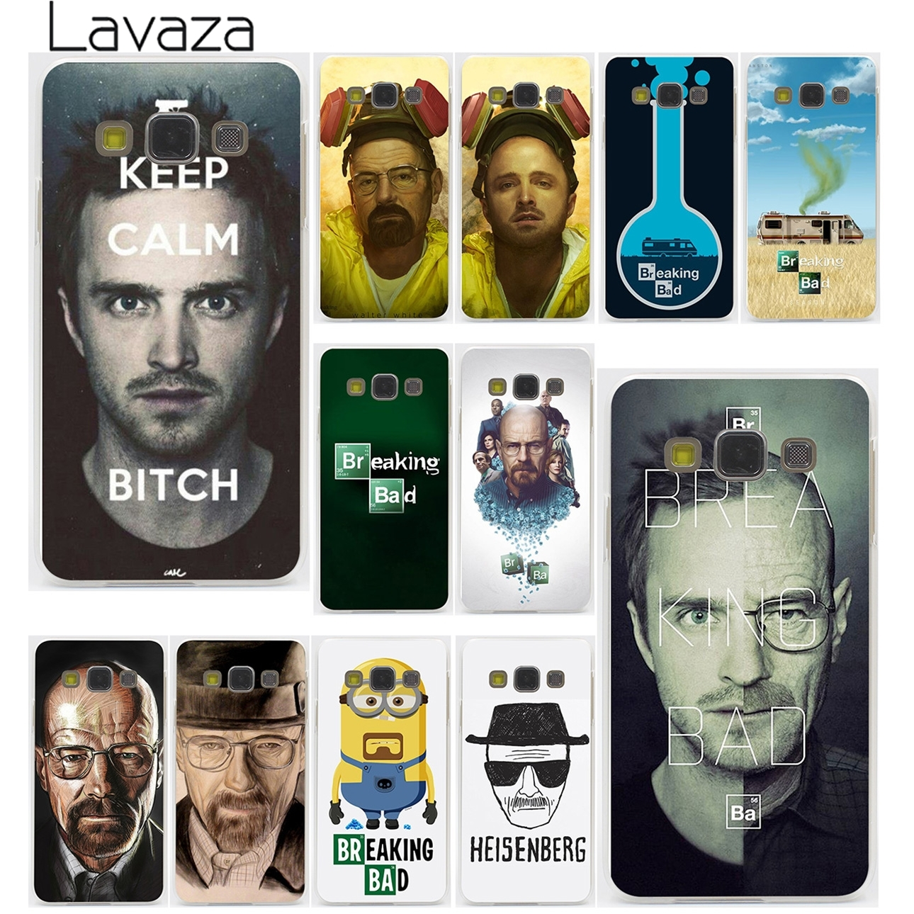Lavaza Breaking Bad Chemistry Walter Hard for Samsung Galaxy A3 A5 A7 A8 2015 2016 2017 2018 Note 8 5 4 3 2 Grand Prime 2 ...