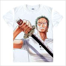 One Piece 3D Printing T shirt