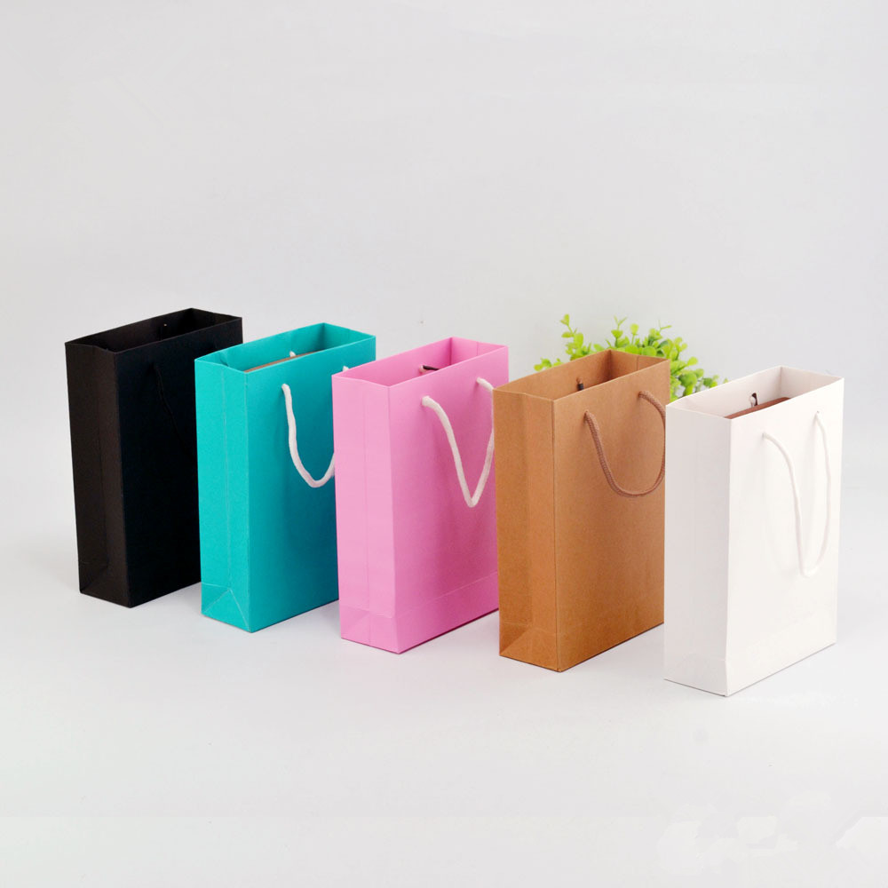 Paper Gift Bags Wholesale Us 21 8 Paper Bag Gift Bags Wholesale Clothing Bags 22 15 6cm Upscale Handbags Bags On Aliexpress Alibaba Group