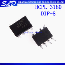 Free Shipping 10pcs/lot  HCPL 3180 HCPL3180 MARKING A3180 3180 DIP8  new original In Stock